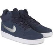 Nike COURT BOROUGH MID High Tops For Men(Blue)