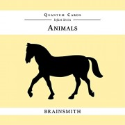Brainsmith Quantum Cards – Animals - Black and White Cards for Newborns – Newborn Baby - Vision Stimulation - Baby Brain Development - High Contrast Image Cards - Infant Flashcards – Early Learning – Infant Series - Visual Development – Baby Shower Gift (