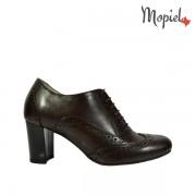 Pantofi dama din piele naturala 23529/maro/Carla