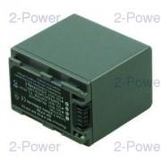 2-Power Videokamera Batteri Sony 7.2v 2460mAh (NP-FP90)