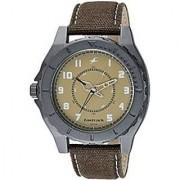 Fastrack Quartz Beige Round Men Watch 9462AL02