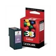 Lexmark 33 Cartucho de tinta (Lexmark 18CX033) color