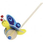 O jucărie din lemn și fluture (54995)