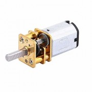 INVENTO 4pcs N20 3.7V - 6V 100 RPM Micro Gear Reduction DC Motor with 301 Metal Gearbox For RC Car Robot Toys DIY