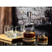Fjord whisky set 7 delig. Handmade