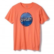 Oakley Factory Circle T-shirt Rojo L