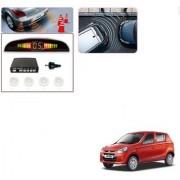 Auto Addict Car White Reverse Parking Sensor With LED Display For Maruti Suzuki Alto 800