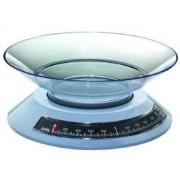 Cantar mecanic de bucatarie cu bol Laica KS2002, 2kg (Albastru)