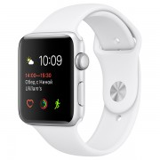 Apple Watch Series 1 42mm with Sport Band MNNL2 White (Спортивный ремешок белого цвета)