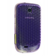TPU Gel Case for Samsung Galaxy Mini S5570 - Samsung Soft Cover (Purple)