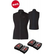 Lenz Lithium Pack rcB 1800 Bluetooth + 1.0 Heatable Vest Black 2XL