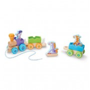 Melissa and Doug Trenulet din lemn cu animale