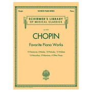 Frederic Chopin - Favourite Piano Works(Paperback) (9781423431350)