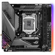 Asus ROG STRIX Z390-I GAMING Intel Z390 LGA 1151 mini ITX Scheda Madre Gaming Supporto DDR4 a 4266 MHz +, Intel Wi-FI, M.2, SATA 6Gbps, HDMI 2.0, USB 3.1 Gen 2, Nero