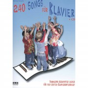 AMA Verlag 240 Songs for Piano for beginners
