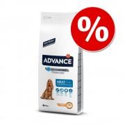 Advance 18 kg Medium y Maxi en formato ahorro - Maxi Adult pollo y arroz - 18 kg