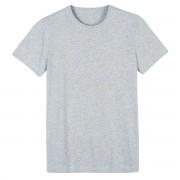 La Redoute Collections T-shirt gola redonda, em algodão, ThéoCinza Mesclado- XS
