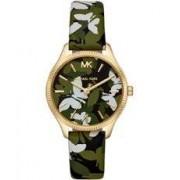 Michael Kors Bracelet de montre Michael Kors MK2811 Cuir Multicolore 16mm