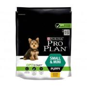 PURINA Pro Plan Cane Small & Mini Puppy Con Optistart, Crocchette, Ricco In Pollo, Confezione 700g