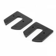 Set 2 placute sistem de fixare roata spate, pentru trotineta electrica scuter Xiaomi Mijia M365