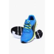 Puma Faas 500 V4 Cloisonn�-Poseidon-Sulphur Spring Running Shoes For Men(Blue)