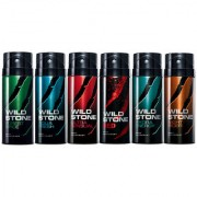 Wild Stone Aqua Fresh Deo Deodrant Body Spray For Men 150ml Set of 4