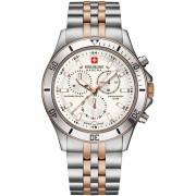 Ceas barbatesc Swiss Military Hanowa Flagship 06-5183.7.12.001 Cronograf 42 mm
