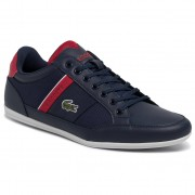 Lacoste Sneakersy LACOSTE - Chaymon 3193 Cma 7-38CMA0022144 Nvy/Red