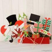 Set de postizos Navidad