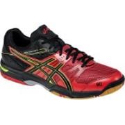 Asics Gel-Rocket 7 Men Multi Court Shoes For Men(Red, Black, Yellow)