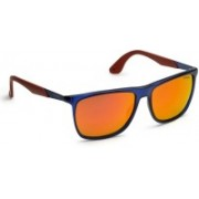 Carrera Wayfarer Sunglasses(Brown, Red)