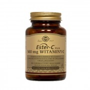 Solgar, Ester C-Plus Vitamin C 500 mg, 50 Kapseln