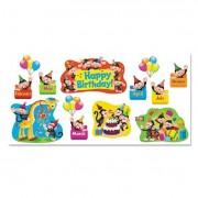 Monkey Mischief Birthday Bulletin Board Set, 18 1/4 X 31, 30 Pieces