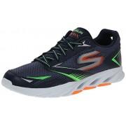 Skechers Men's Go Run Vortex Navy and Orange Running Shoes - 8 UK/India (42 EU) (9 US)