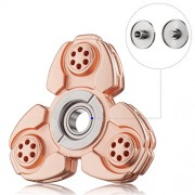 BLAZE SPINNER (Flyby Copper) Fidget Hand Spinner Toy 100% Copper Process. Precision Bearing. Spins Longer, Built Stronger. Smooth 3-5 Minute Spin Times