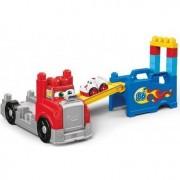 Set constructie Mega Bloks Camion Transportor 15 piese