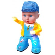 Wish Kart Very Cute Little Apple Dancing Baby singing Song with 3D Lights Music