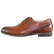 Pantofi eleganti, piele naturala barbati - maro, Pieton - SIR-142-Maro