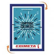 Edimeta Cadre Clic-Clac 80 x 120 cm BLEU