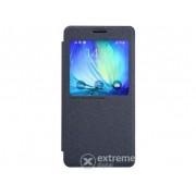 Husa din plastic Nillkin SPARKLE S-View Cover pentru Samsung Galaxy A7 (2015) SM-A700F, negru