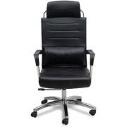 Fabsy Interior - Fabsy Interiors Premium Revolving Chair In Black Leatherette