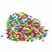 Konfety papierové, farebný mix 100 g [1 bal.]