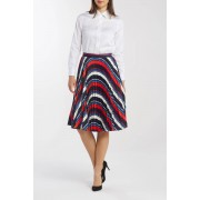 Gant Sukně Gant D1. Preppy Stripe Pleated Skirt modrá 38