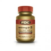 FDC OMEGA 3 EPA E DHA 1000MG 100 Cápsulas