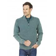 Hajo Washer-Pullover Hajo blau-grün