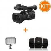 Kit Video Profesional Eveniment cu Camera Panasonic HC-X1000 4K + Lampa Video 320 lucsi + Geanta Video