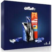 Gillette All Purpose Styler and Fusion5 Sensitive Shaving Gel Gift Set