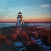 "Brant Point Lighthouse Puzzle, Photo by Terry Pommett, 500 pieces, 20.5"" x 20.5"", The Treasure Collection by Berkshire Stationery, 15-489-90"