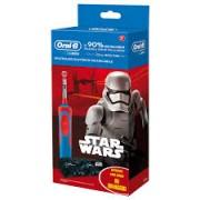 Procter & Gamble OralB Power Vitality Spazzolino elettrico ricaricabile Star Wars + astuccio omaggio