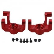 Tradico® TradicoBrand New 2xBQLZR Red 0005 Steering Hub Carrier for WL 12428 12423 RC1:12 Off-Road Car
